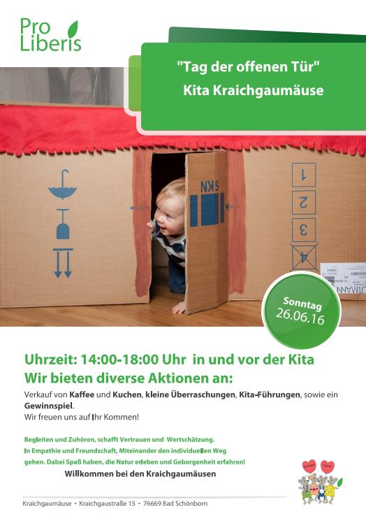 Kita Karlsruhe lädt ein zum Tag der offenen Tür in der Kita Kraichgaumäuse