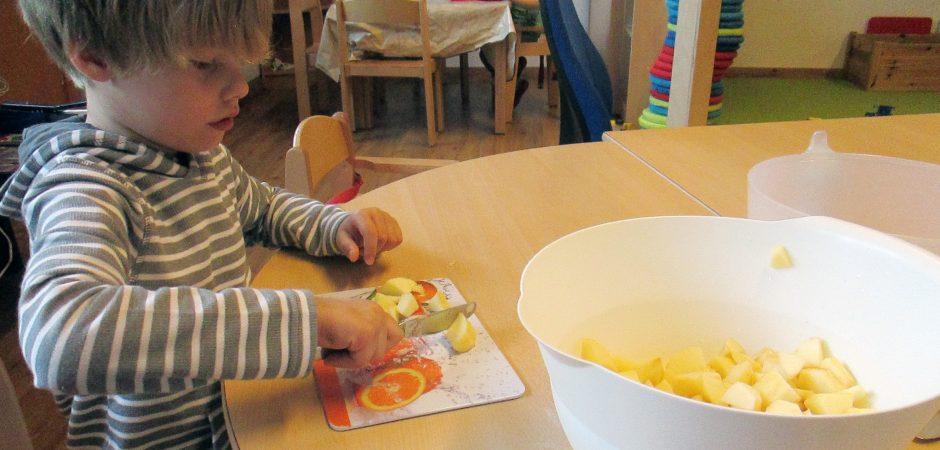 Kinder-Kochtag im Amalienschlössle