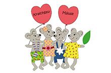 Kita Karlsruhe Logo Kraichgaumäuse
