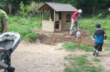 Große Gartenaktion bei den Grashüpfern im Mai