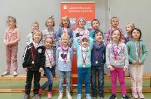 Das Amalienschlössle besucht die Kindergarten Olympiade